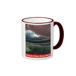 Saving the Geen Grass World Mug