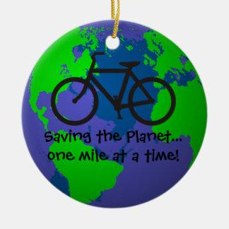 Saving the Planet Ornament
