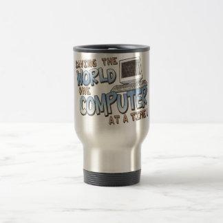 Saving theWorld 15 Oz Stainless Steel Travel Mug