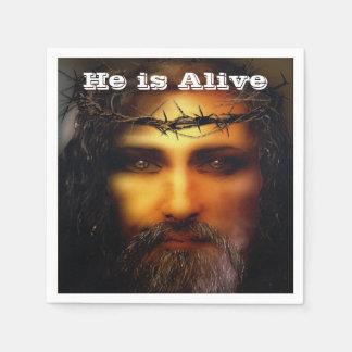Savior Easter Holiday Disposable Napkins