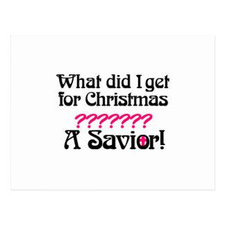 Savior Postcard