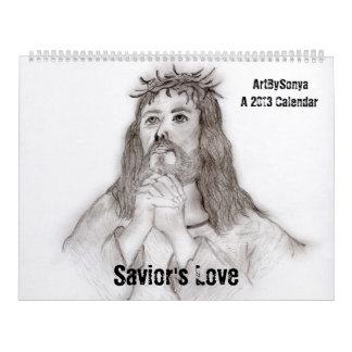 Savior's Love 2013 Calendar