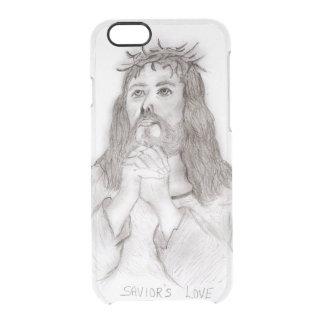 Savior's Love Clear iPhone 6/6S Case