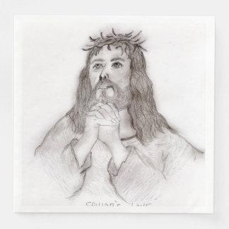 Savior's Love Paper Napkin