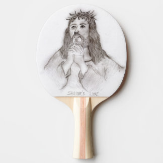 Savior's Love Ping Pong Paddle