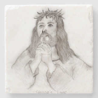 Savior's Love Stone Coaster