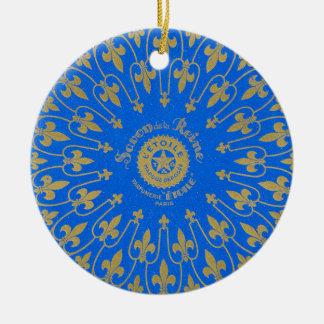 Savon de la Reine Soap Label Ceramic Ornament