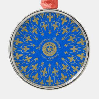 Savon de la Reine Soap Label Metal Ornament