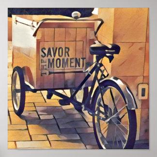 savor the moment wall art
