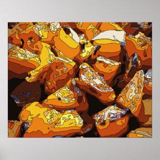 Savory Baked Sweet Potatoes and Raisins Poster