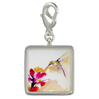 Savory Sip Hummingbird Print Photo Charm