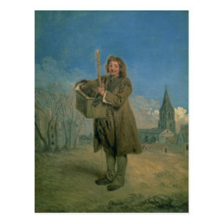 Savoyard with a Marmot, 1715-16 Postcard