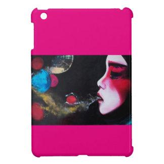 Savvy Glossy iPad Mini Case Bubbles pink
