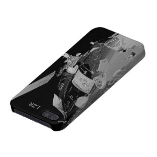 Savvy iPhone 5 case - CG Helicopter in silver