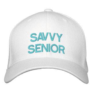 SAVVY SENIOR - Baseball Cap by eZaZZleMan