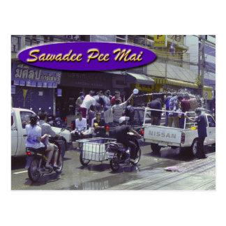 Sawadee Pee Mai-Songkran Postcard