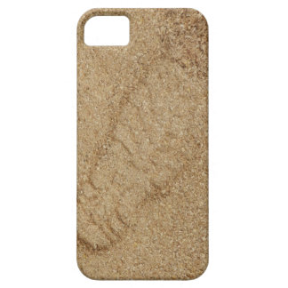 Sawdust Boot Print iPhone SE+5/5S Case