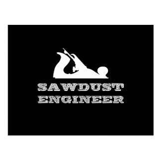 Sawdust Engineer Postcard