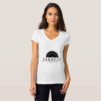 SawDust Is Man Glitter Woodworking Woodworkers T-Shirt