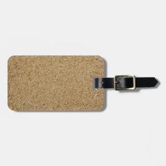 Sawdust Luggage Tag