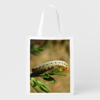 Sawfly Larvae Reusable Bag