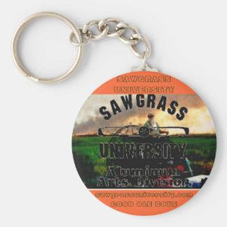 Sawgrass University Aluminum Arts Division Keychain