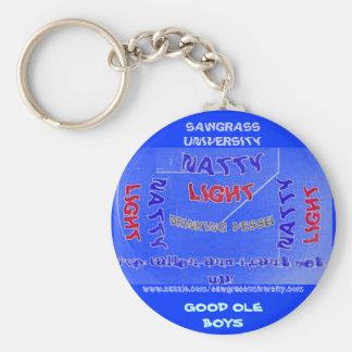 Sawgrass University Aluminum Arts Division Basic Round Button Keychain