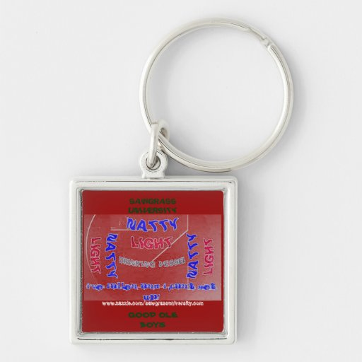 Sawgrass University Aluminum Arts Division Keychain