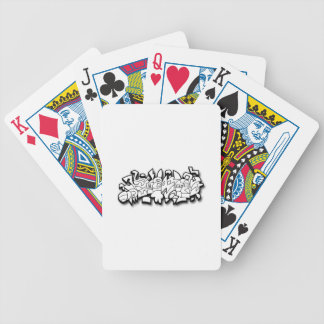 Sawtooth Bicycle Playing Cards