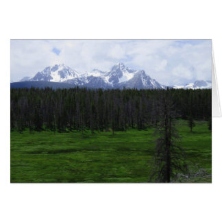 Sawtooth Mountains, Idaho Card