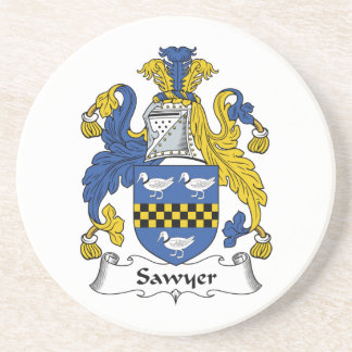 Sawyer Family Crest Coaster