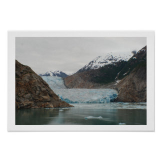 Sawyer Glacier - Tracy Arm Fjord Poster