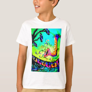 Sax and Music Tree T-Shirt