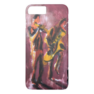 Sax and trumpet pair iPhone 7 plus case