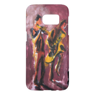 Sax and trumpet pair samsung galaxy s7 case
