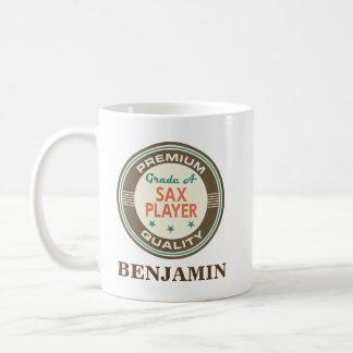 Sax Player Personalized Office Mug Gift