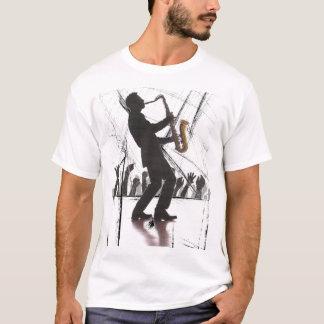 sax playing blues T-Shirt