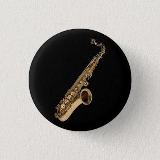 Sax Tenor 1 Inch Round Button