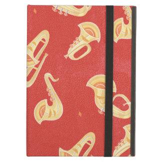 Sax Tuba Trombone Trumpet Musical Instruments iPad Air Cases