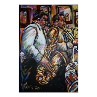 saxaphone in the band poster