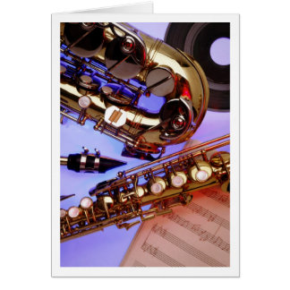 Saxes Card