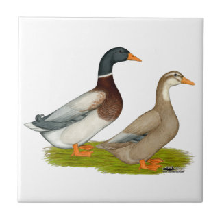 Saxony Ducks Tile