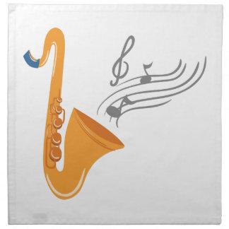Saxophon saxophone sax napkin