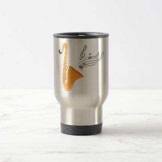 Saxophon saxophone sax travel mug