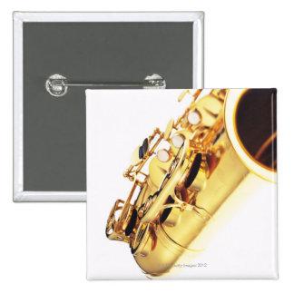 Saxophone 2 2 inch square button