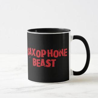 Saxophone Beast Mug