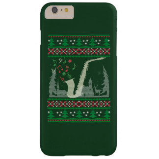 Saxophone Christmas Barely There iPhone 6 Plus Case