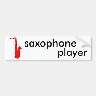 saxophone d'oddRex Autocollant De Voiture