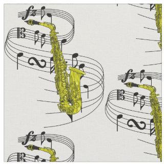 Saxophone Fabric
