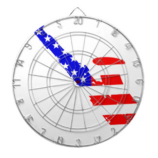 Saxophone Flag Background Dartboard